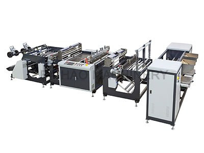 ROLL BAG MAKING MACHINE WITH CORE