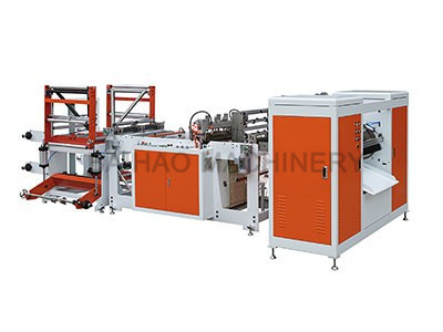 DOUBLE LINES GARBAGE BAG MAKING MACHINE